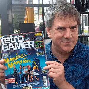 Point and click legende Ron Gilbert