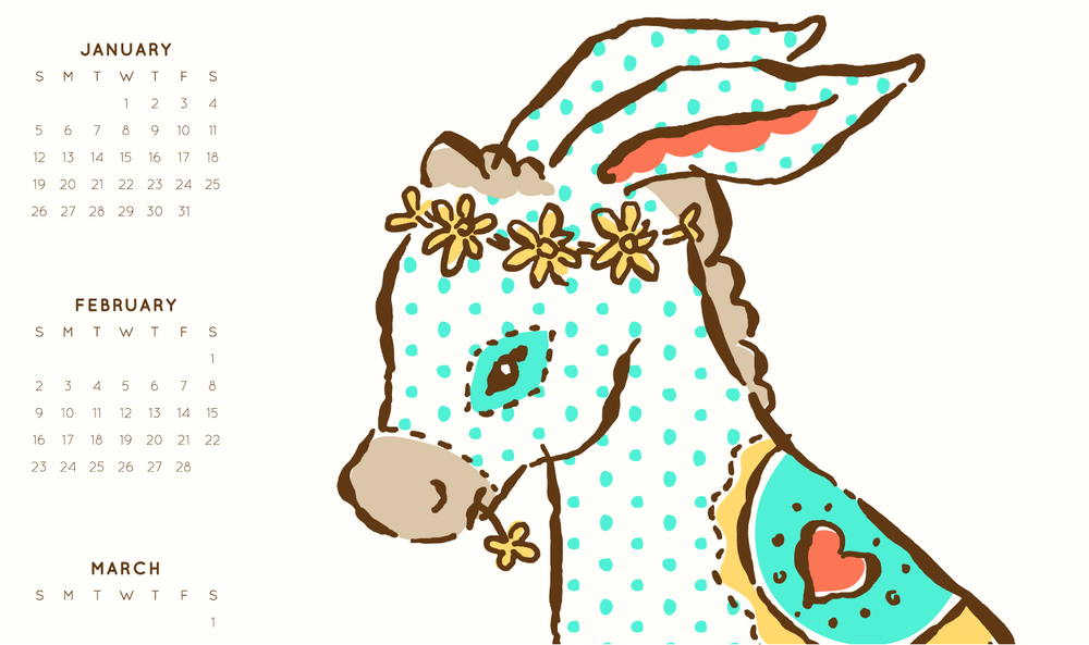 NickyOvitt_DonkeyCalendarTeaTowelDetail.jpg