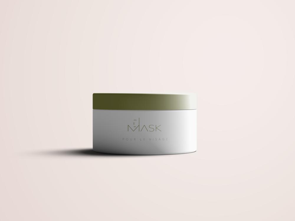 Mask - Luxury Jar Mockup