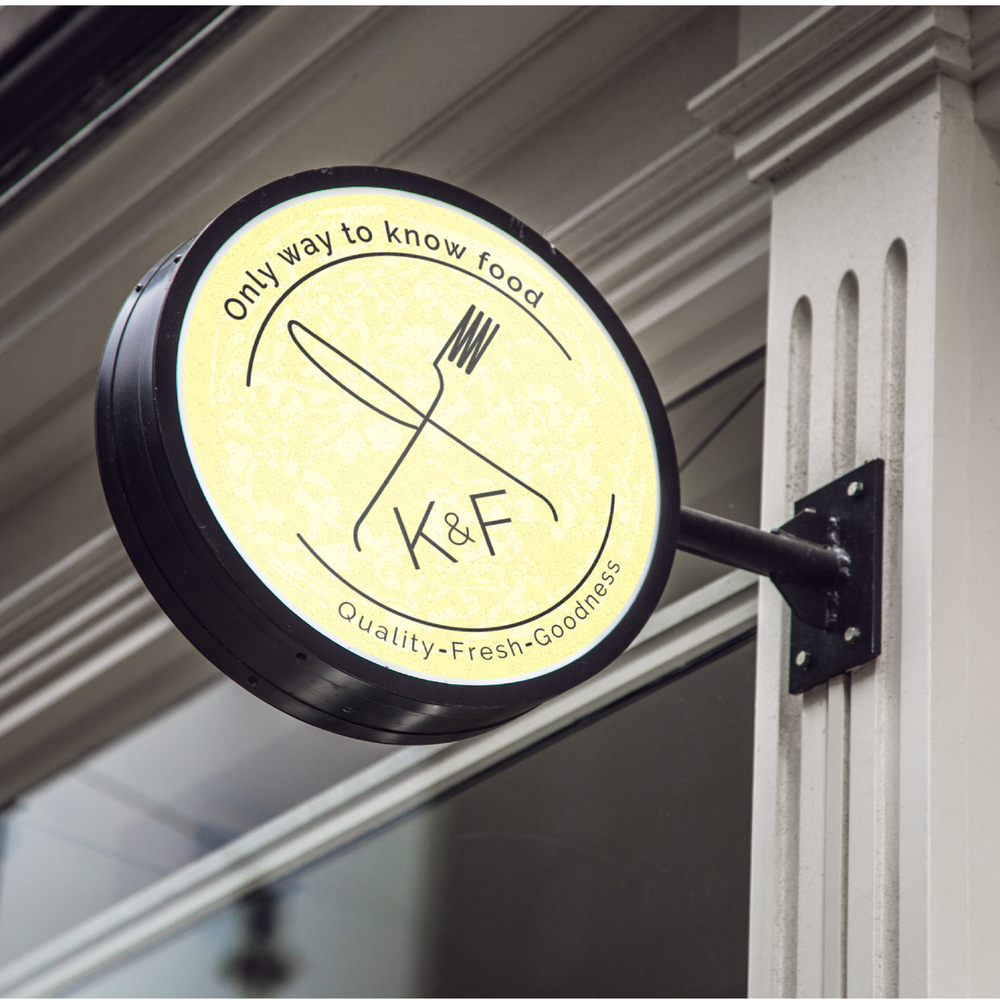 Knife & Fork - Branding, Collateral