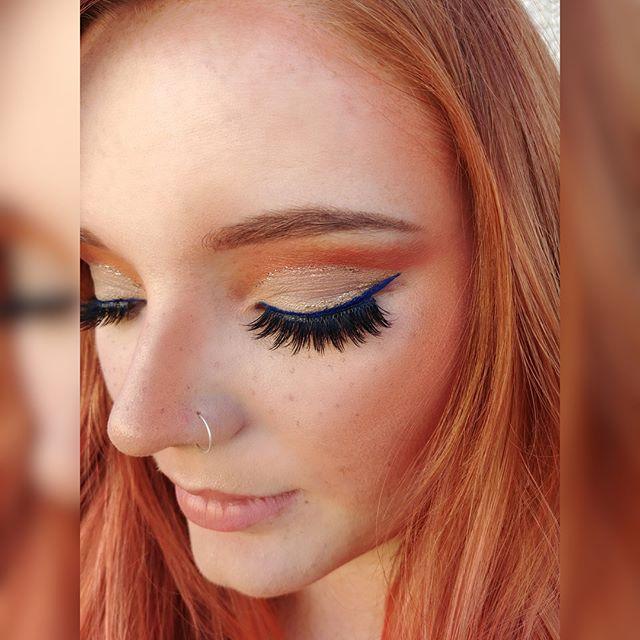 🍑🍑🍑 Swipe for the full look😍➡️ Hair by @lorietherrien  Model: @tjhirmannnn  Makeup by me using @limecrimemakeup #venusxl