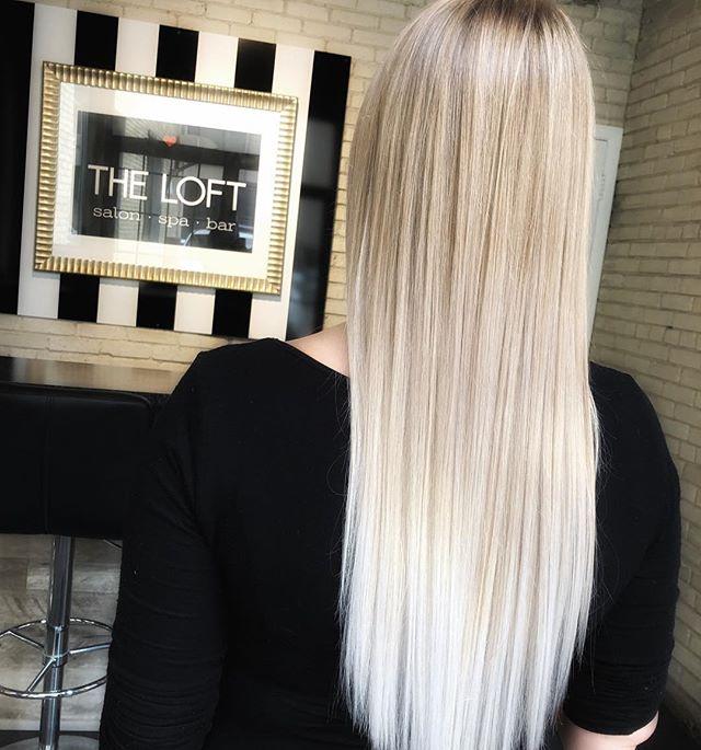 Do blondes really have more fun? #redken #redkenblondage #theloftwinnipeg #kerastase