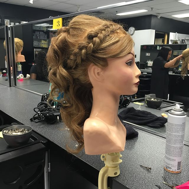 Updo competition!! First place!!!!