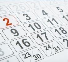 See our Calendar
