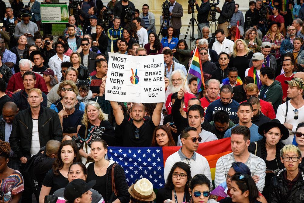 James Golestan Activism Orlando Vigil Gay Pride Parade LA LGBT Center-3.jpg