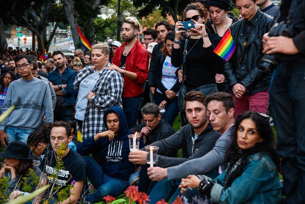 James Golestan Activism Orlando Vigil Gay Pride Parade LA LGBT Center-10.jpg