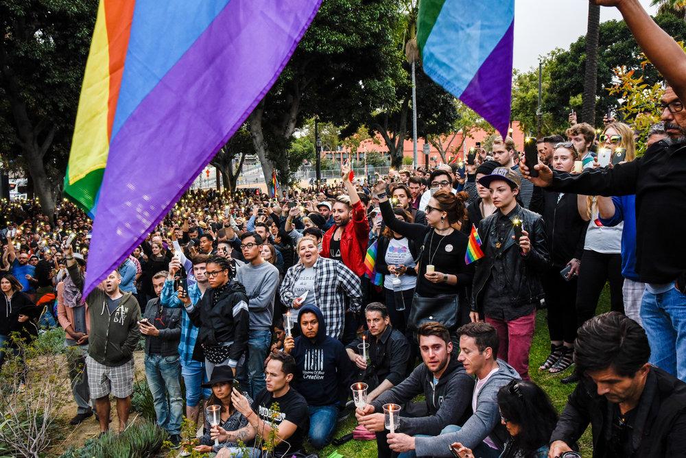 James Golestan Activism Orlando Vigil Gay Pride Parade LA LGBT Center-11.jpg