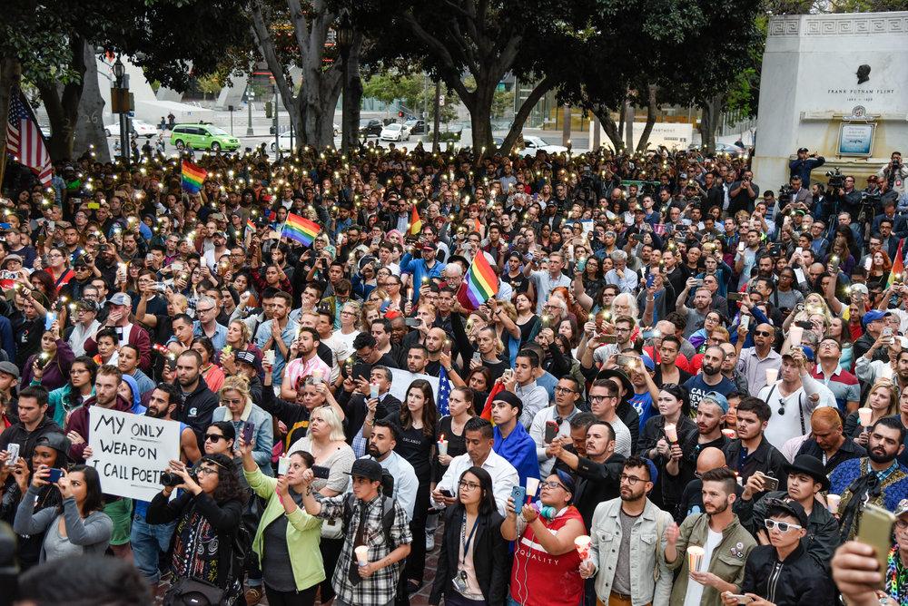James Golestan Activism Orlando Vigil Gay Pride Parade LA LGBT Center-14.jpg