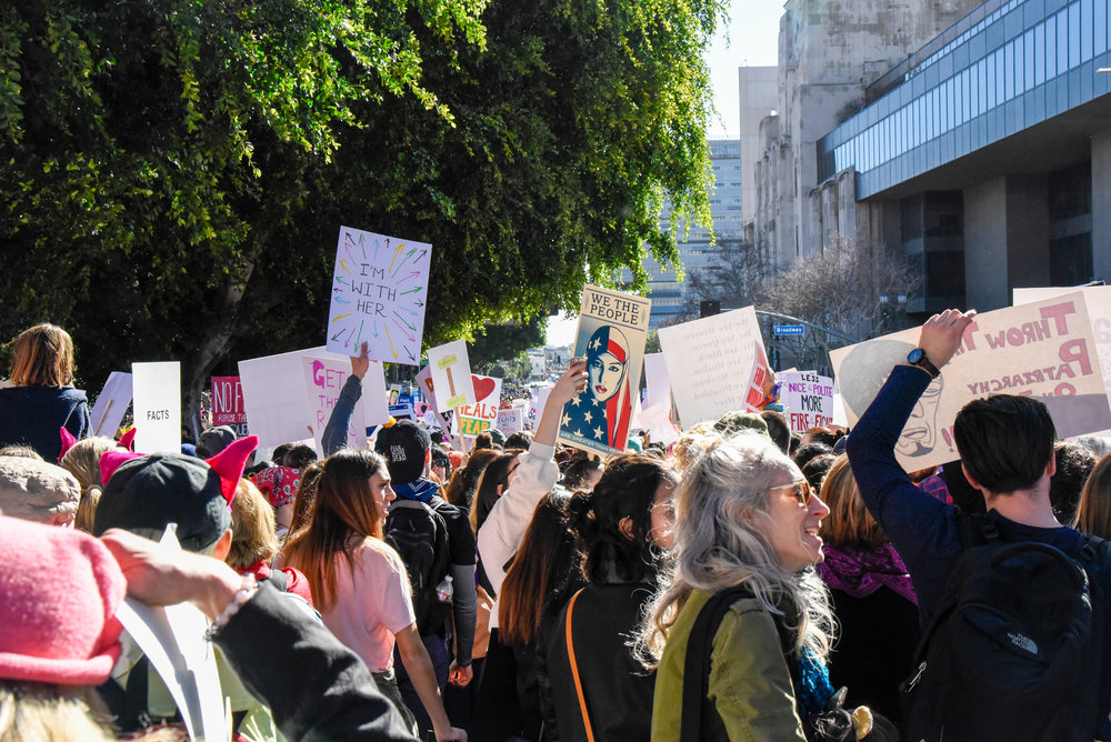 Womens March Feminism Democracy Activism Womens Rights Los Angeles Protest-6.jpg
