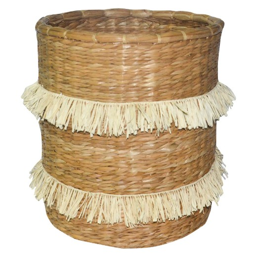 Fringed Basket