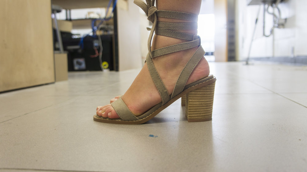 Samantha Greenya - Chinese Laundry Strappy Heels