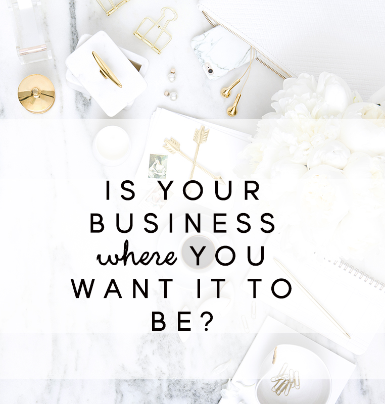Is your business where you want it to be?