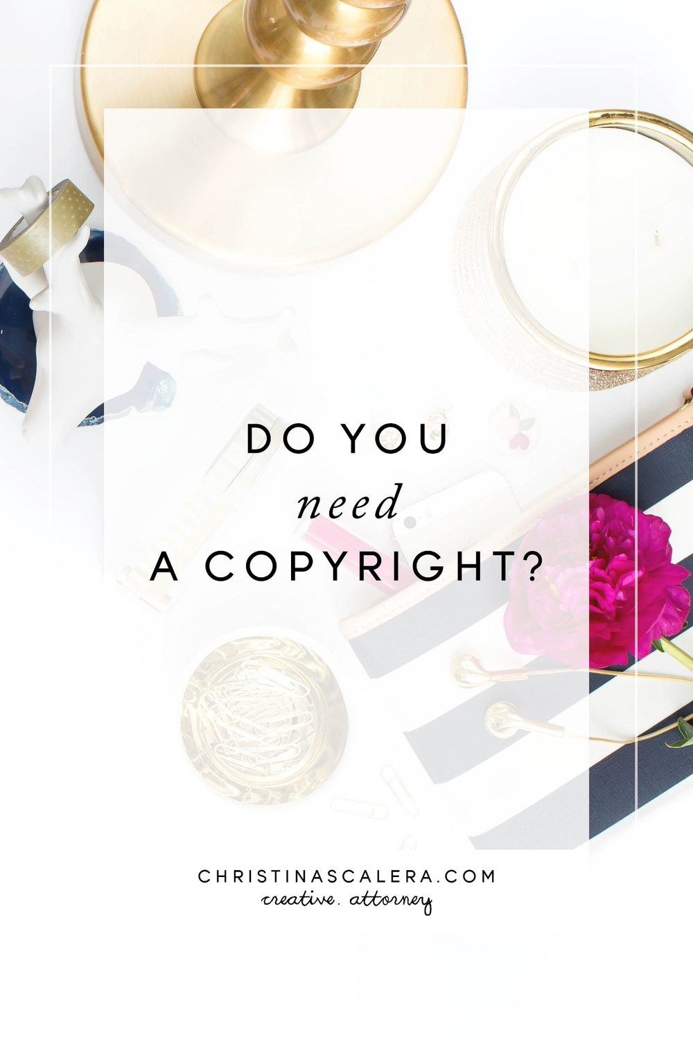 Do you need a copyright + a FREE Workbook!