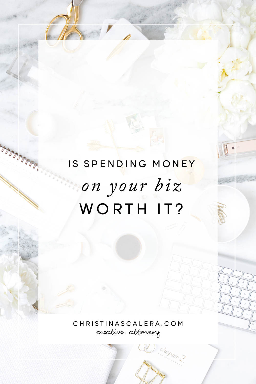 Is spending money on your biz worth it?