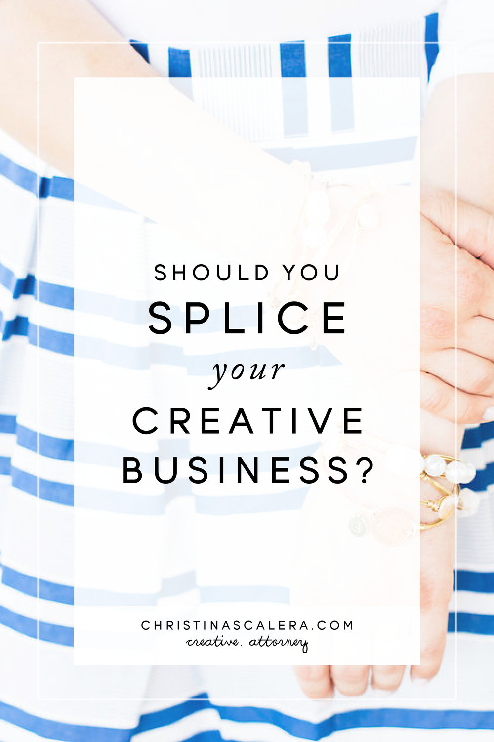 Should you Splice your Creative Business?