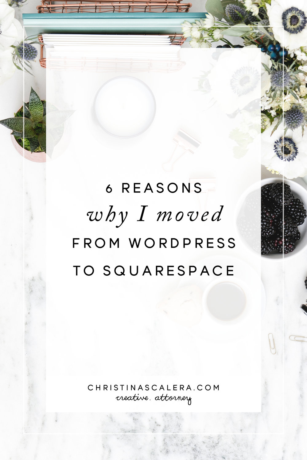 Reasons why I Moved from Wordpress to Squarespace.