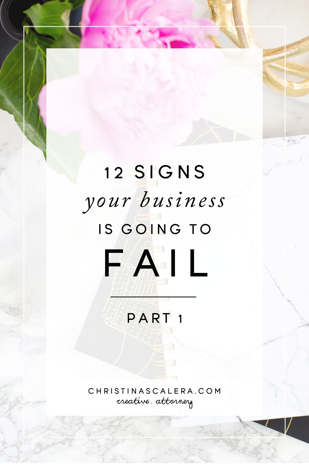 Signs your business is going to fail + FREE WORKBOOK!