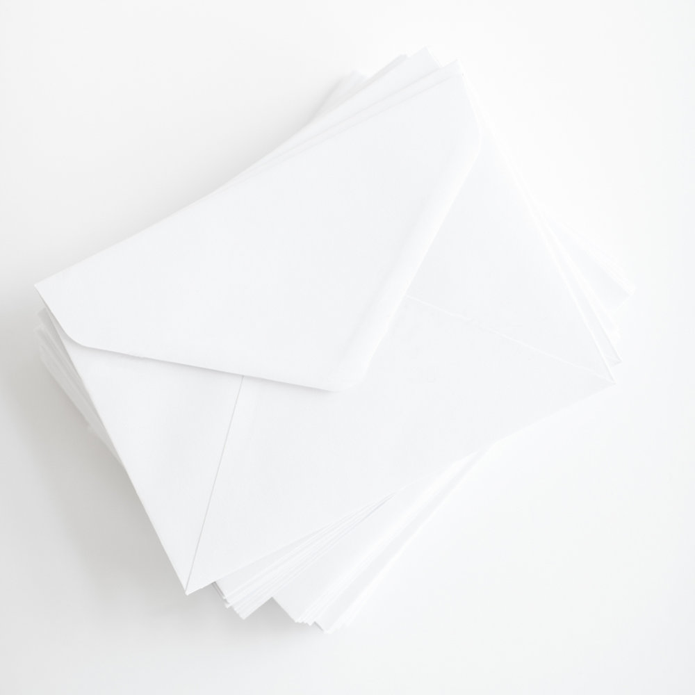 GREETING CARDS - Collection of 25 single photo image greeting cards on sustainably sourced 340gsm thick paper stock with satin finish. Uncoated blank interior for writing.White envelopes included.105 x 148mm+ $100