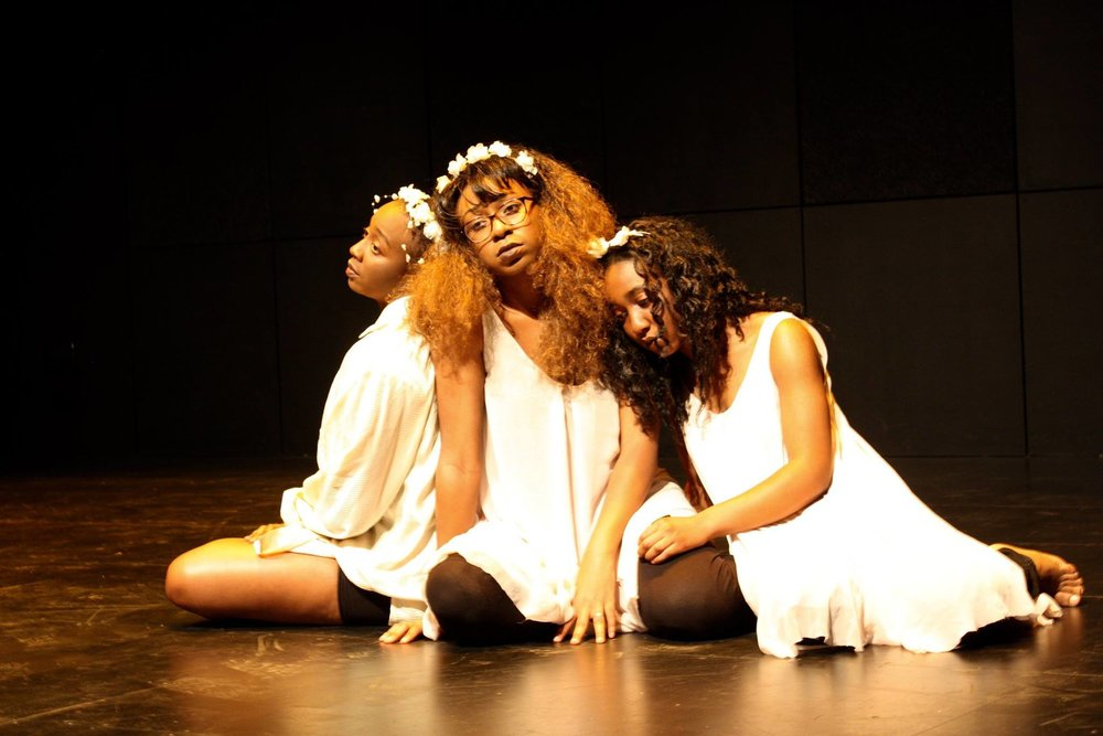"Ruguru, Eddie, and Onyekachi Iwu in ""Black Thoughts"" - Kanako Fujioka"