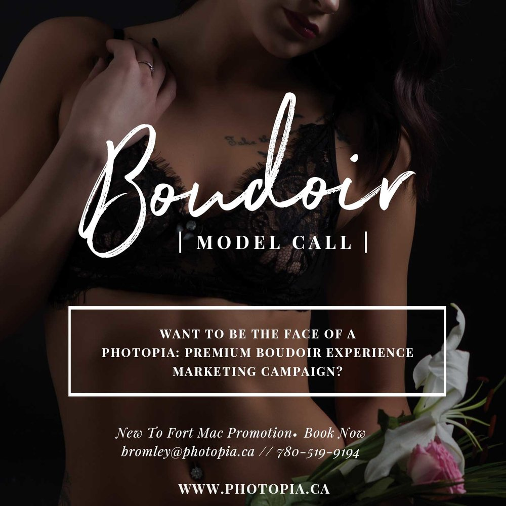 Fort McMurray Boudoir Photographer