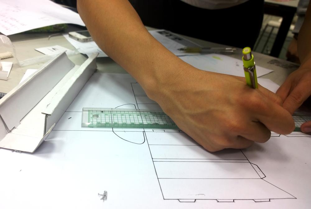 Exploring a paper construction
