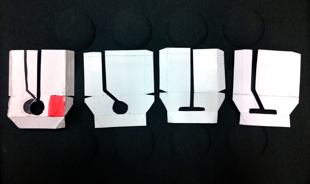 Bandage opening designs