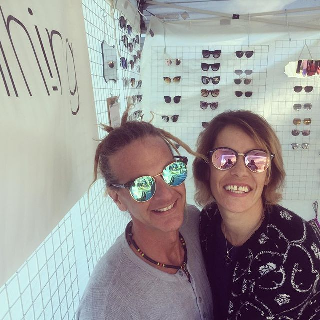 Ben and Jane here! Come down and say hi on Saturday @_hunt.and.gather_ #supportlocal #newcastle #smallbusiness #sunthing #sunglasses #fashion #local