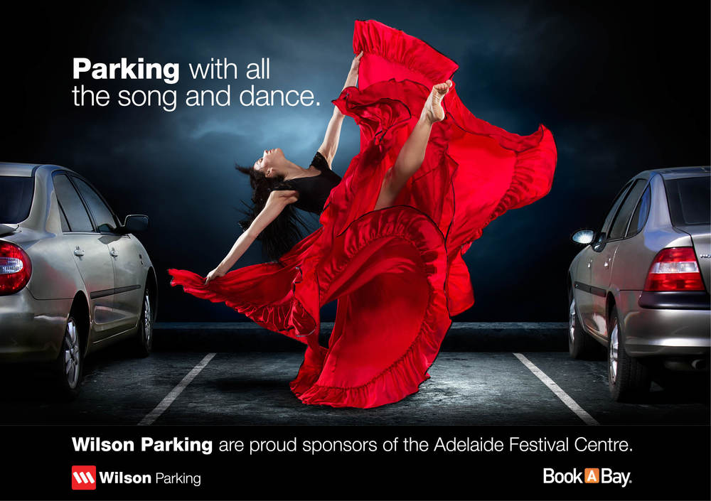 Advertisement for Adelaide Cabaret Festival Programme