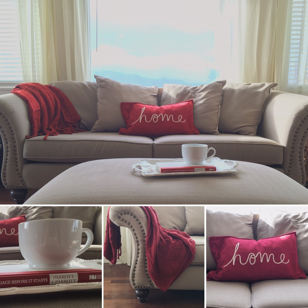 Pin it now! | Home Decor | Living Room | The Winemakers Wife