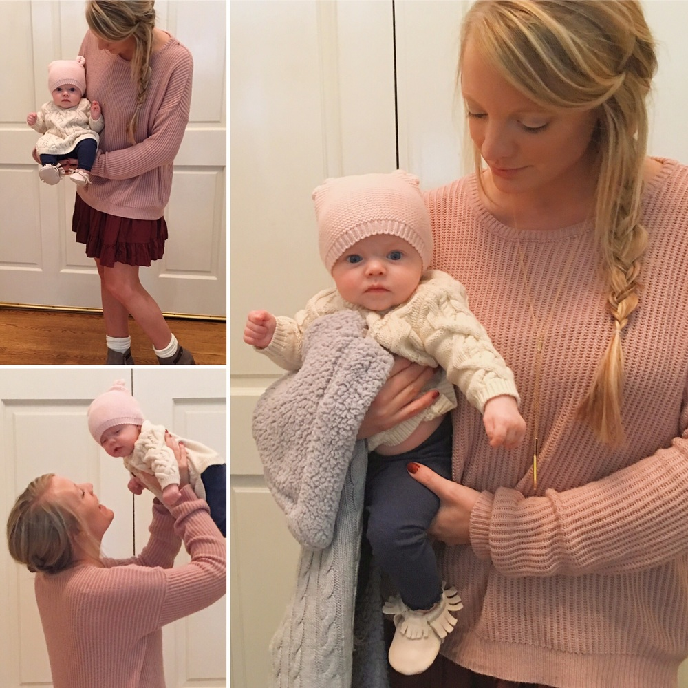 What's Vienna Wearing | Thanksgiving | mom blog | baby fashion | ootd