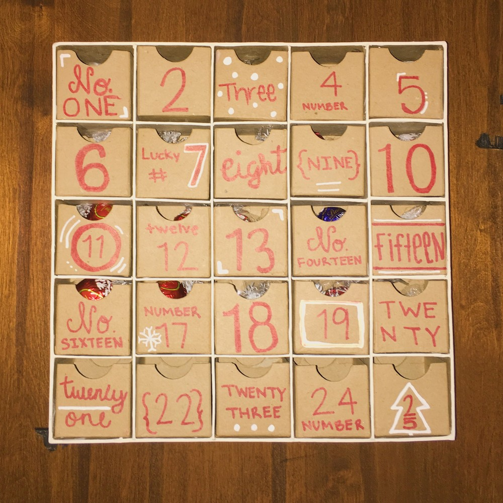 Advent Calendar + DIY | The Winemakers Wife | Wife. Mother. Lifestyle Blogger.