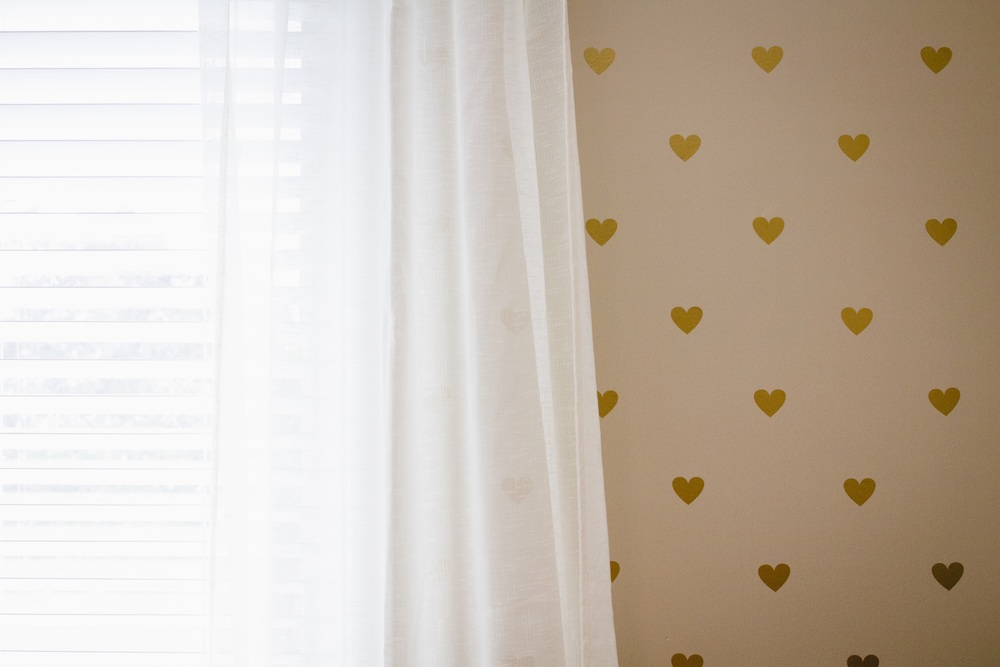 Heart of GOLD Nursery Wall • The Winemakers Wife • Meagan Kludt • Wife. Mother. Lifestyle Blogger