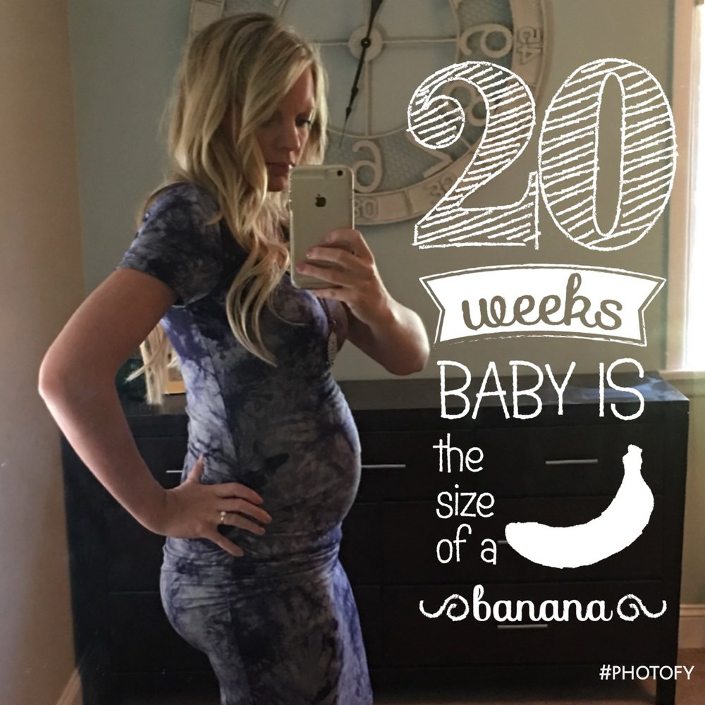 20 weeks pregnant with baby number two! Meagan Kludt