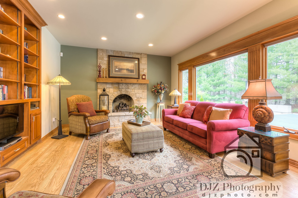 Living Room 2 - Real Estate Photography