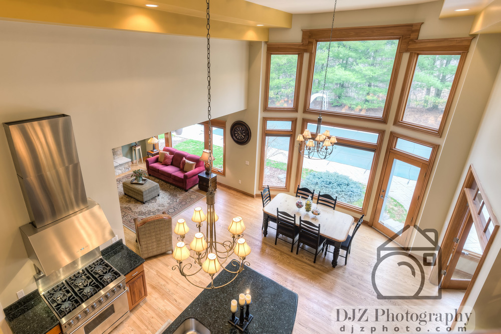 Balcony Overlook - Real Estate Photography