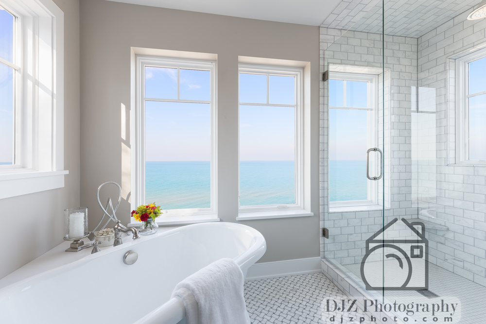 Master Bathroom by the Sea 2 - Real Estate Photography