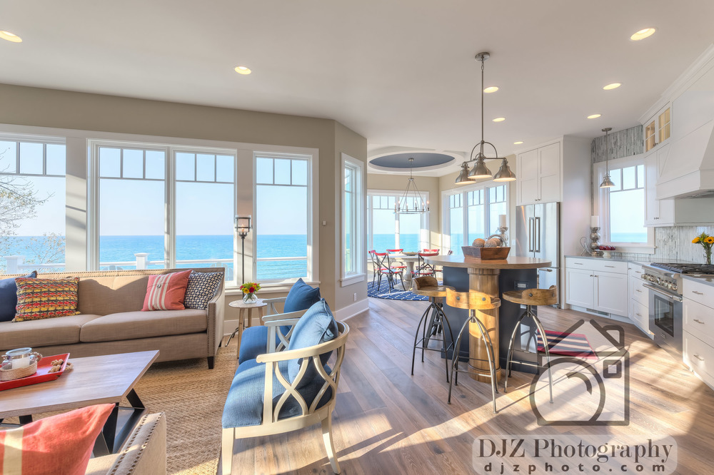 Main Floor with a View - Real Estate Photography