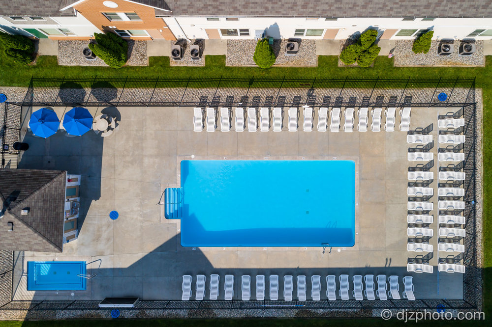 Apartment Aerial Swimming Pool