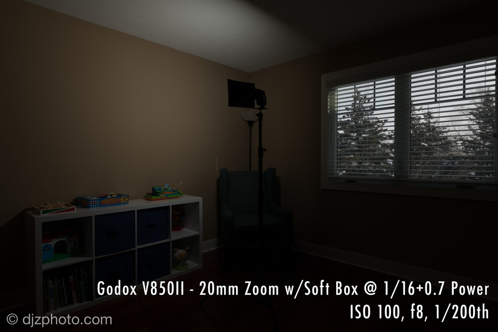 Godox V850II / Flashpoint Zoom Li-on R2