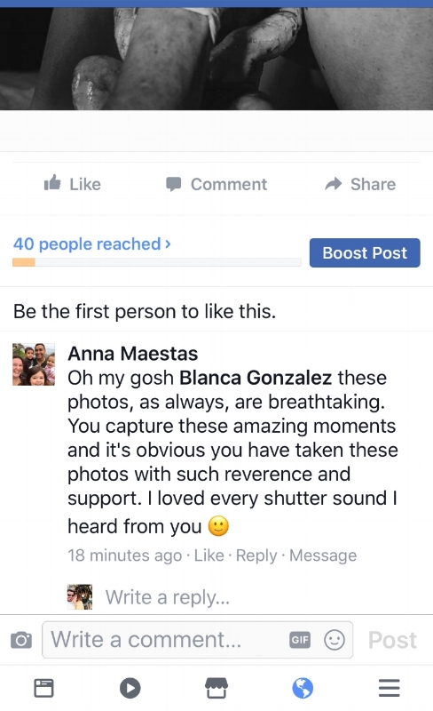 Anna Maestas Comment on Breech Birth Photo