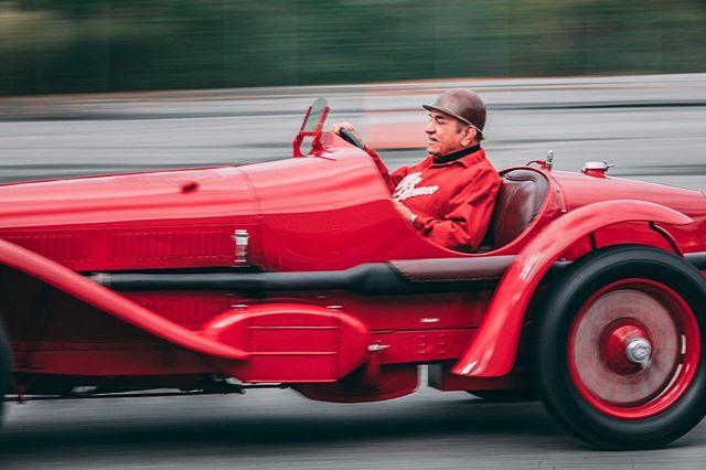 Enzo Ferrari Day. #enzoferrari  #prancinghorse #redcar #ferrari #philadelphia