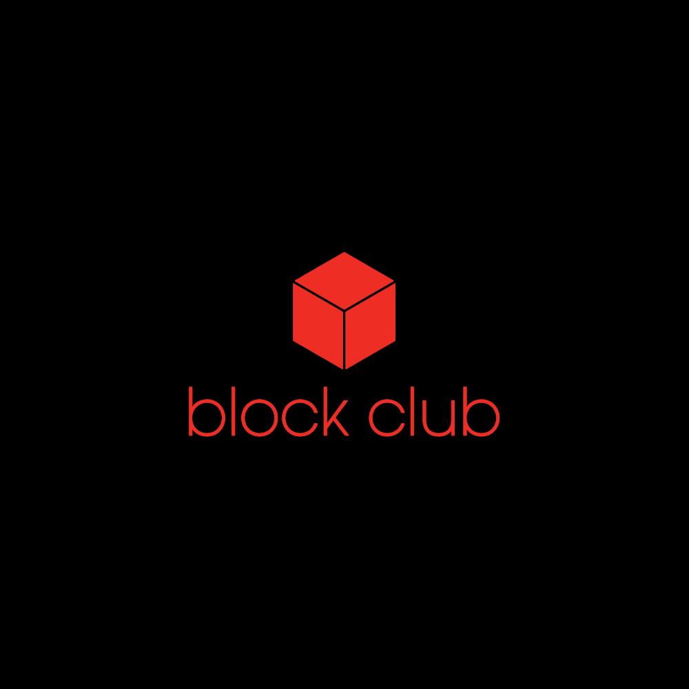 Block Club, design agency. Part of larger rebranding effort. 2011.