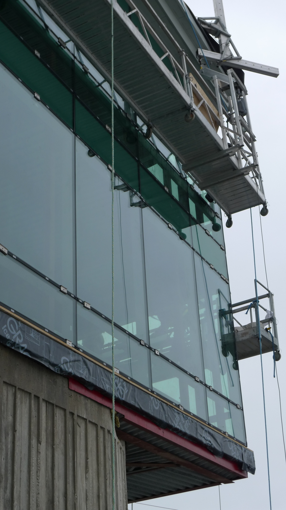 Exterior Curtainwall / Railings / Staircase