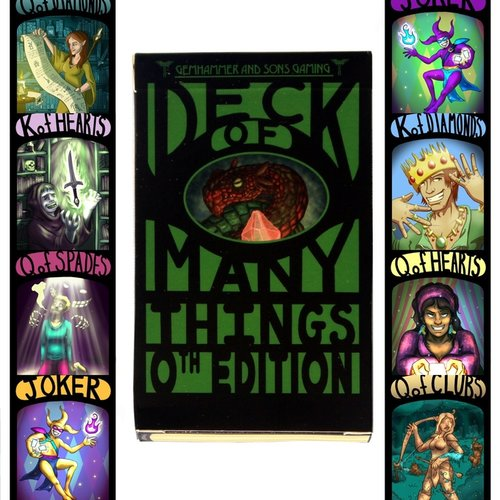 Deck Of Many Things 0th Edition Gemhammer And Sons