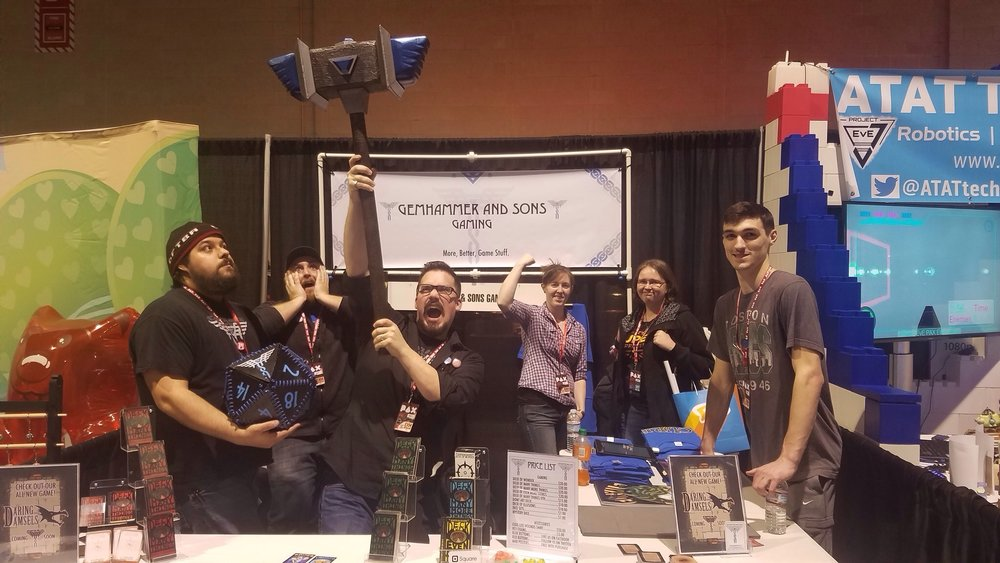 A special thanks to Phil, Johnny, John, and Lauren for coming out with us to PAX this year.