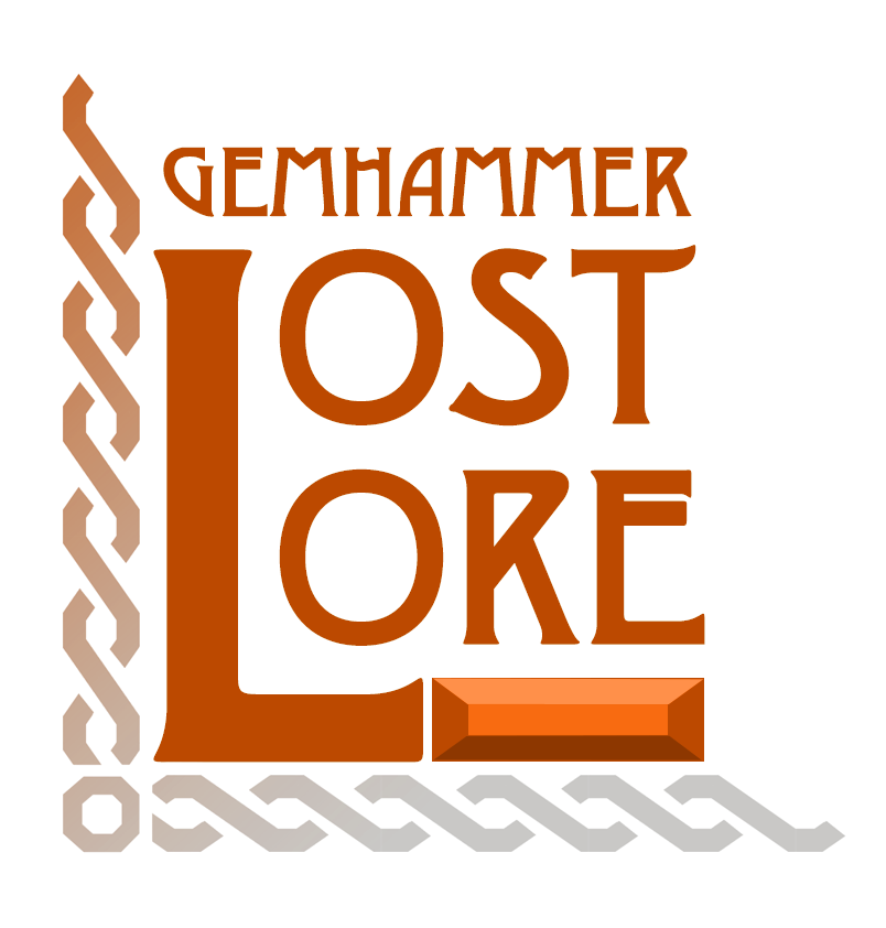 Forgotten Tomes for a New Age - Does your campaign take place in outer space? Is your party a group of hard-nosed gumshoes in a corrupt metropolis? Does your fighter want to moonlight as a lumberjack? Do your players want to test their might against a grenade golem? Then Lost Lore is for you! Starting on March 15th, (and every 15th moving forward), we'll be bringing you a themed collection of Classes, Monsters, Feats, Items and more, to help support those campaigns that take place in realms more remembered where fantasy is less high. Lost Lore will be available here on our website and through our store on DriveThruRPG.