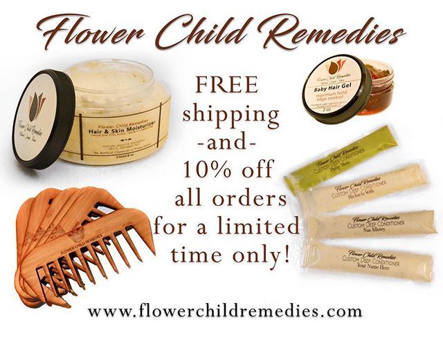#ClickOnThePic to save on @flowerchildremedies products for a limited time only! No promo code needed! 🌺
