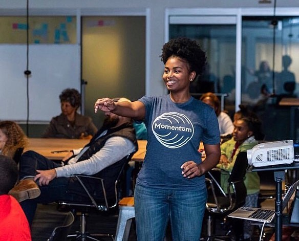 Tbt to helping lead Black Girls Code 💙