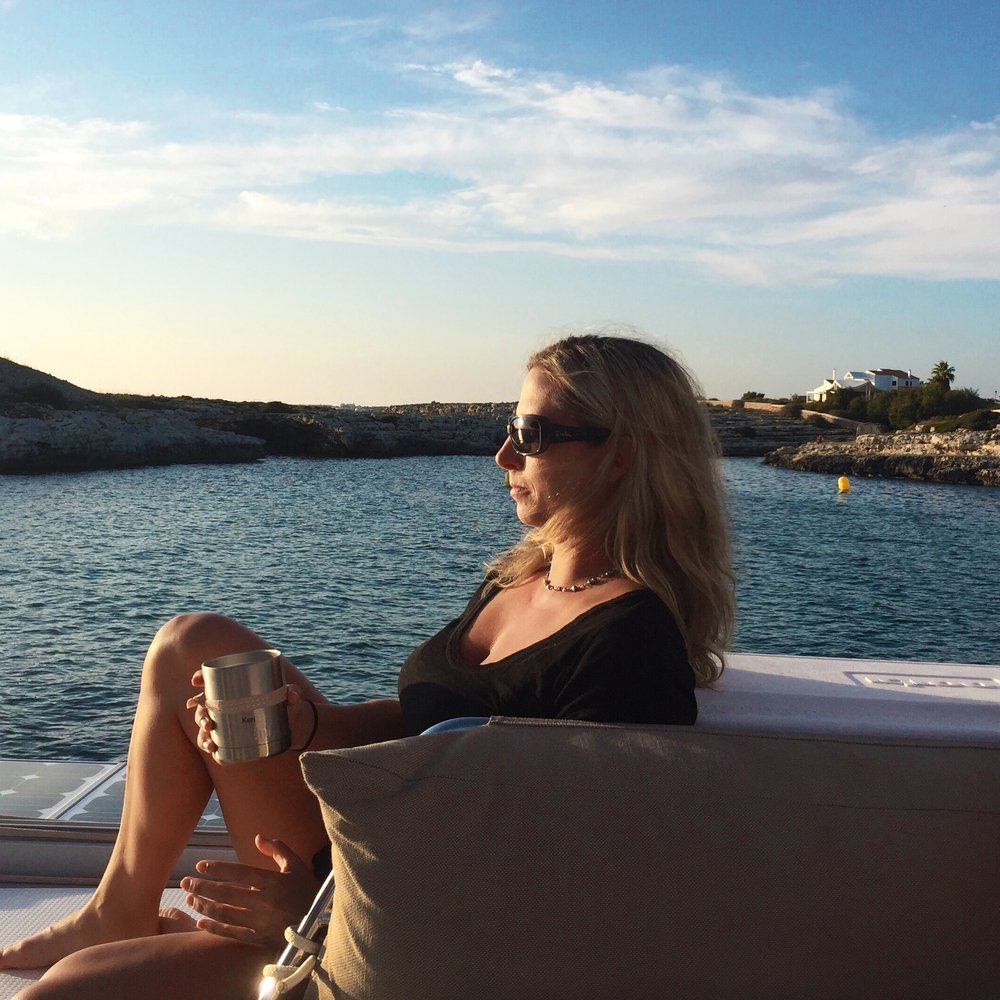 Keri Solon Menorca, september 2016
