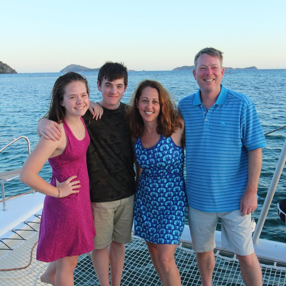 The Rothberg-Althauser Family british virgin islands, march 2017